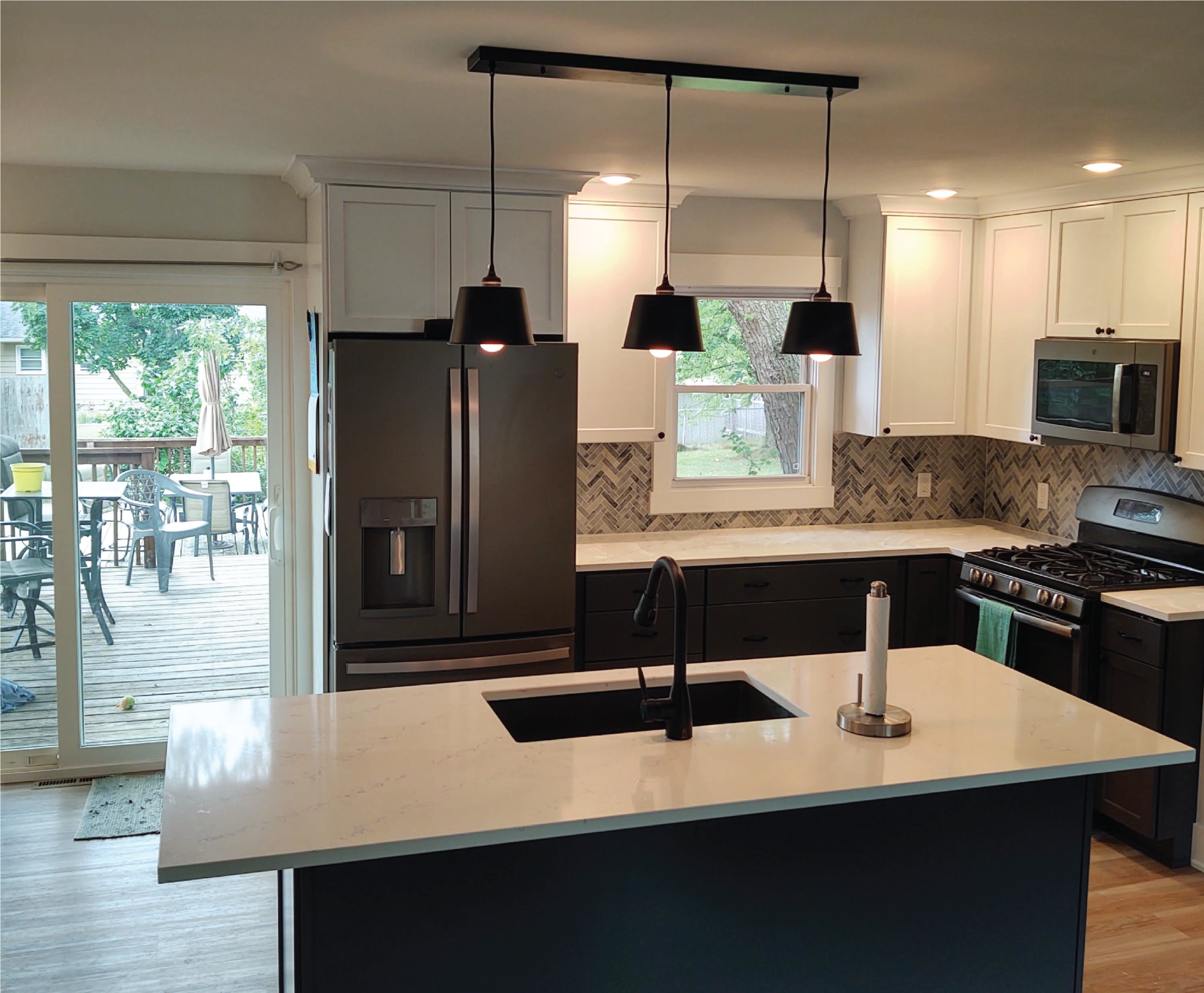 VADA Contracting after kitchen remodel 3 mile project